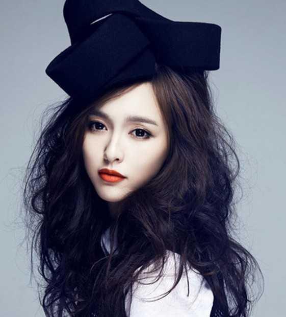 唐嫣长发美女 秒变 短发俏皮可爱青春少女图片