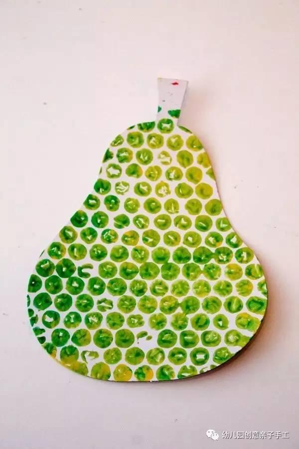 幼儿园亲子手工之废物利用,适合孩子的气泡垫手工图片