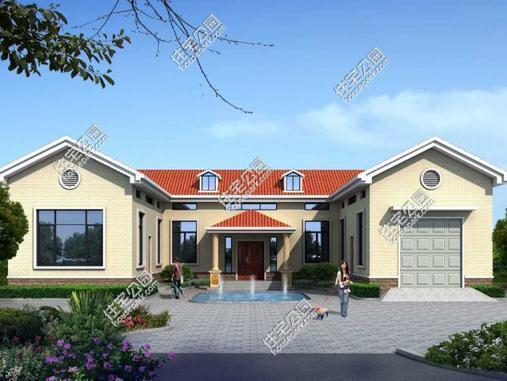 农村自建房现在简欧式别墅是主流