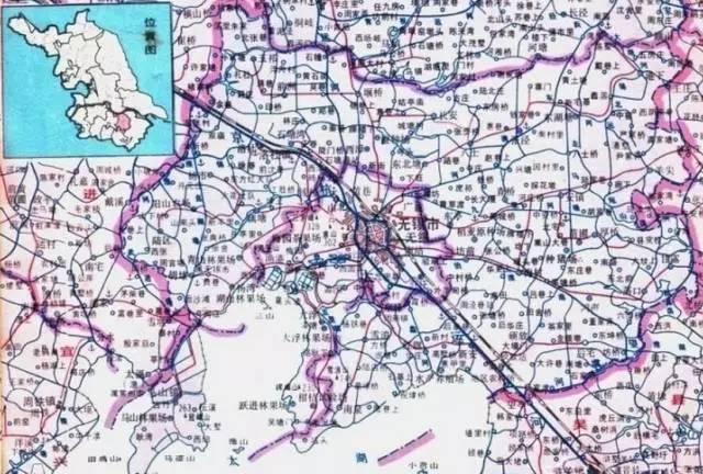 这是无锡县地图,图片来自