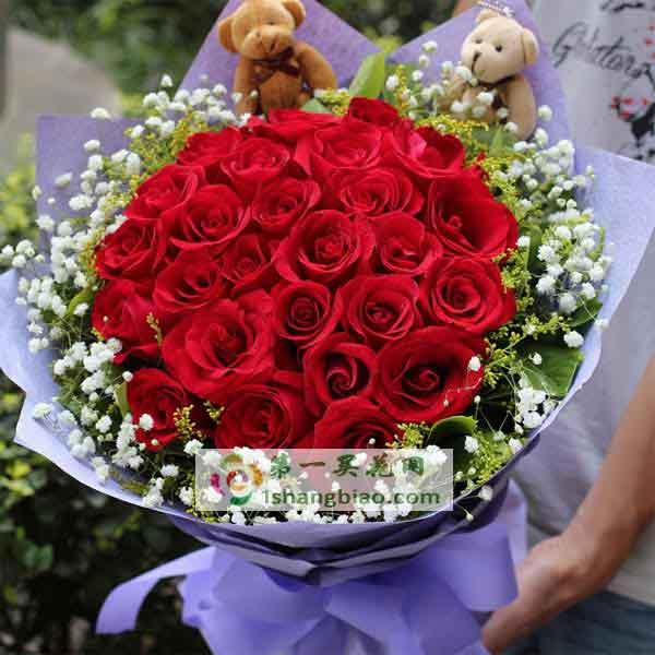 女朋友生气了送什么花,生活需要润滑剂