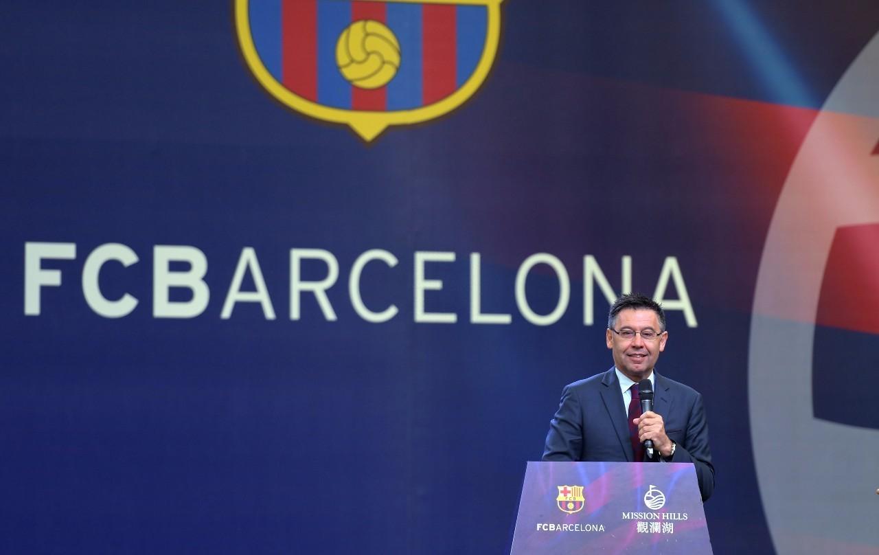 专访巴萨主席:希望将巴萨的足球理念带到中国