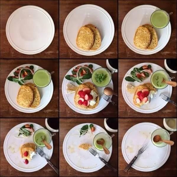 只有不上班的人才有时间做早餐?图片