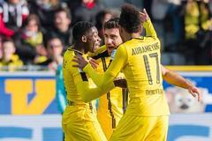 德甲-奥巴梅杨双响罗伊斯助攻 多特3-0胜弗赖堡