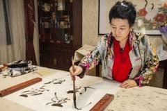 书画家傅继英: 沿袭书画艺术 彰显中华文化