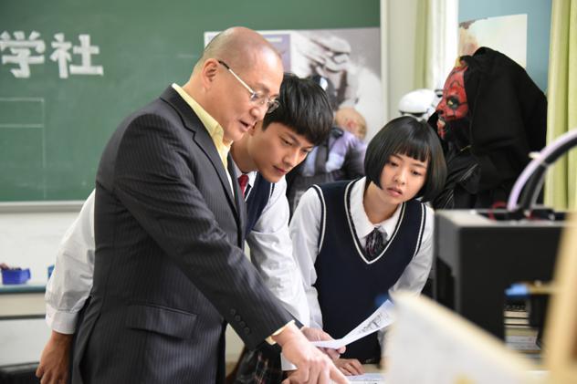 汤镇业当校长,广东首部中学电影《中学时代》开拍