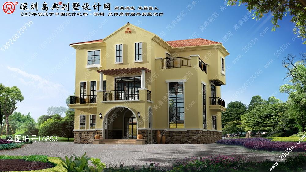 三层小别墅设计图首层188平方米