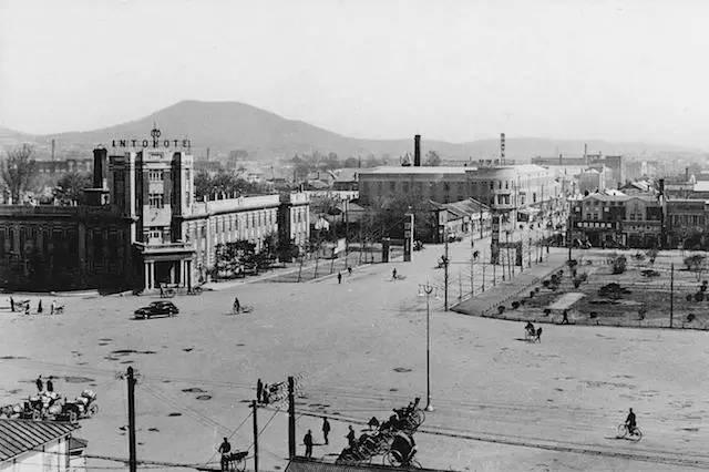 老照片:东北苏杭 丹东 1930年代图片