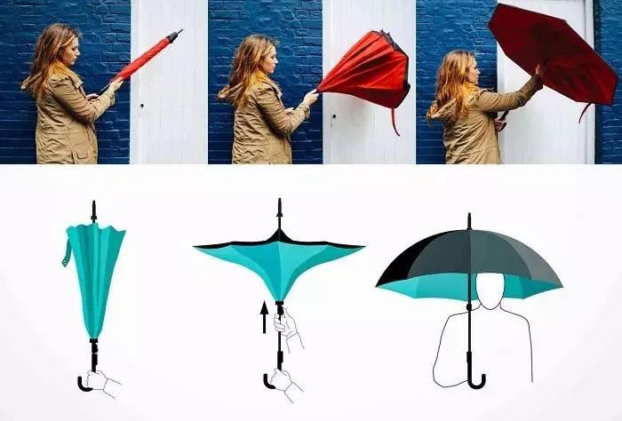 英国老人设计的一把雨伞,让我感觉自己这么多年伞都打