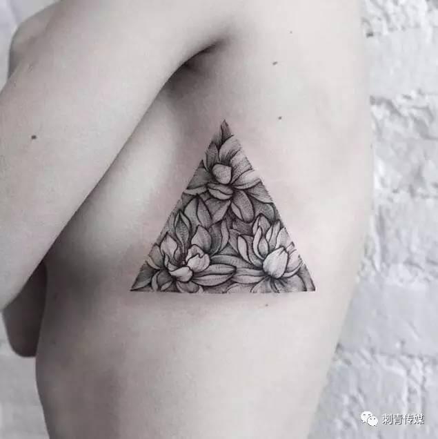 之类的就是背后有些神话故事的差不多属于图腾倒三角纹身是什么意思?图片