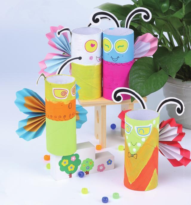 彩纸手工制作简单花朵
