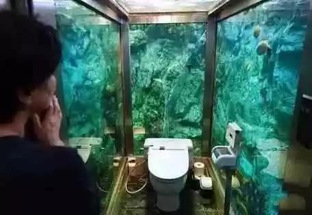 世界奇葩厕所大合集,香港那个黄金的只让上3分钟