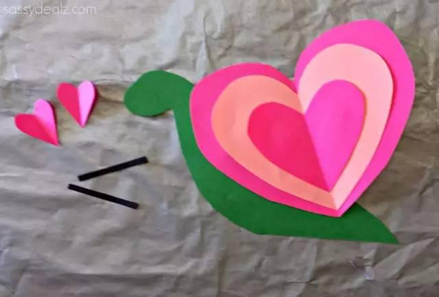 可爱卡纸剪贴画-粘贴画和揉纸画,最有趣的美术创意都在这了