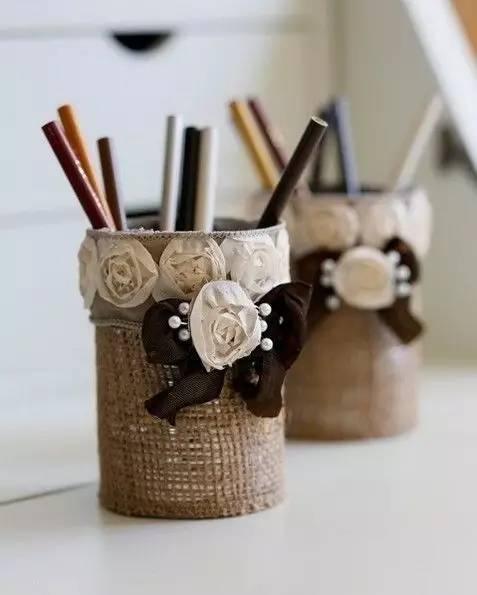 幼儿园亲子手工,11款手工diy笔筒,全球限量版图片