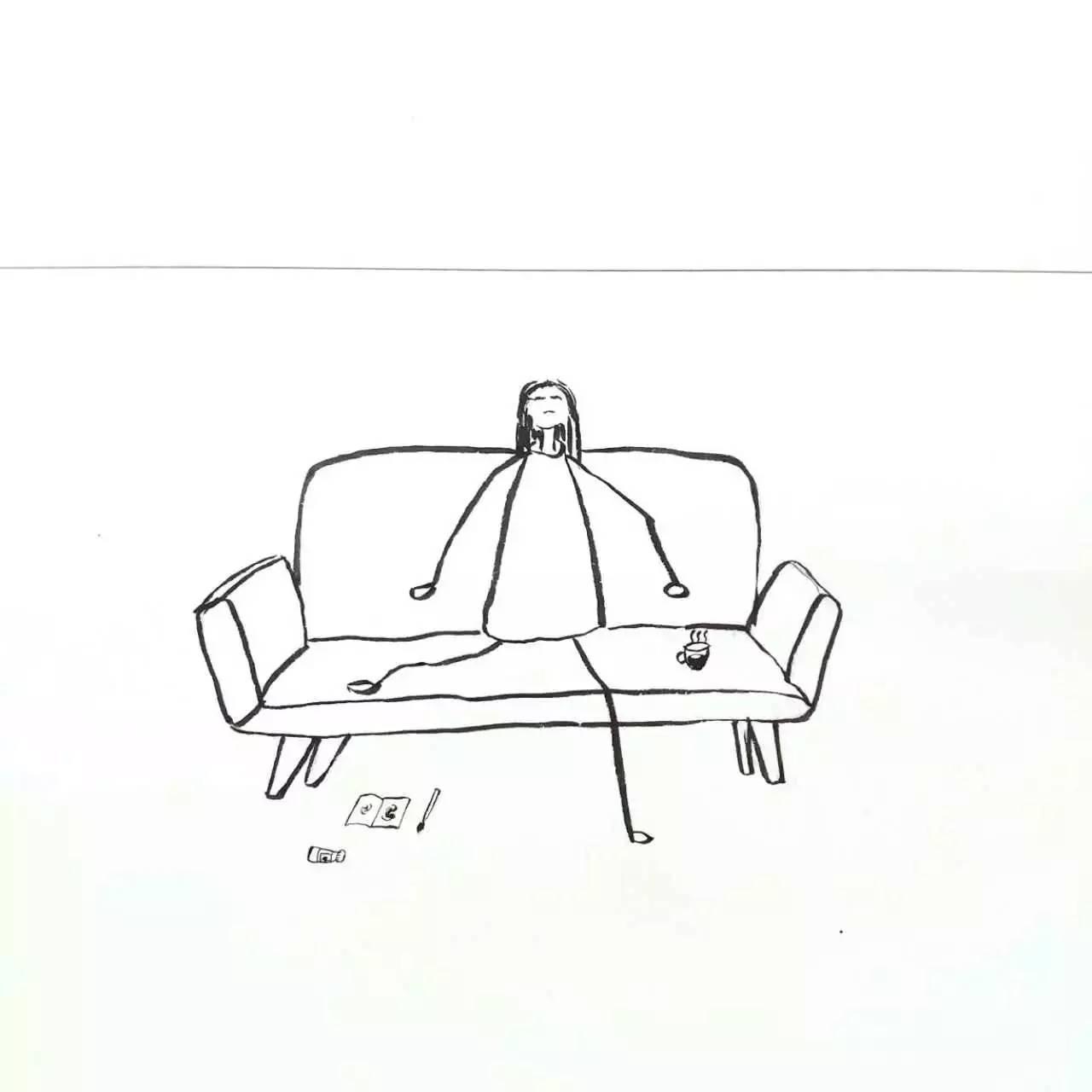 简笔画 设计图 手绘 线稿 1280_1280图片