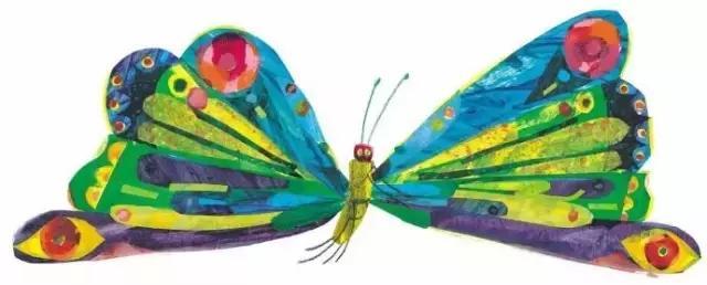 绘本the very hungry caterpillar好饿的毛毛虫