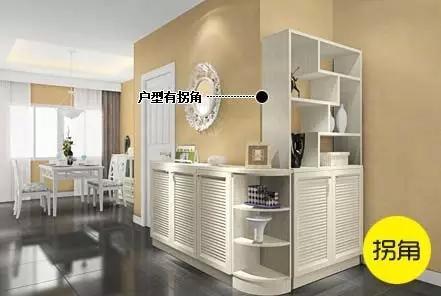 家里是异形空间,玄关鞋柜这样定制才美观!图片