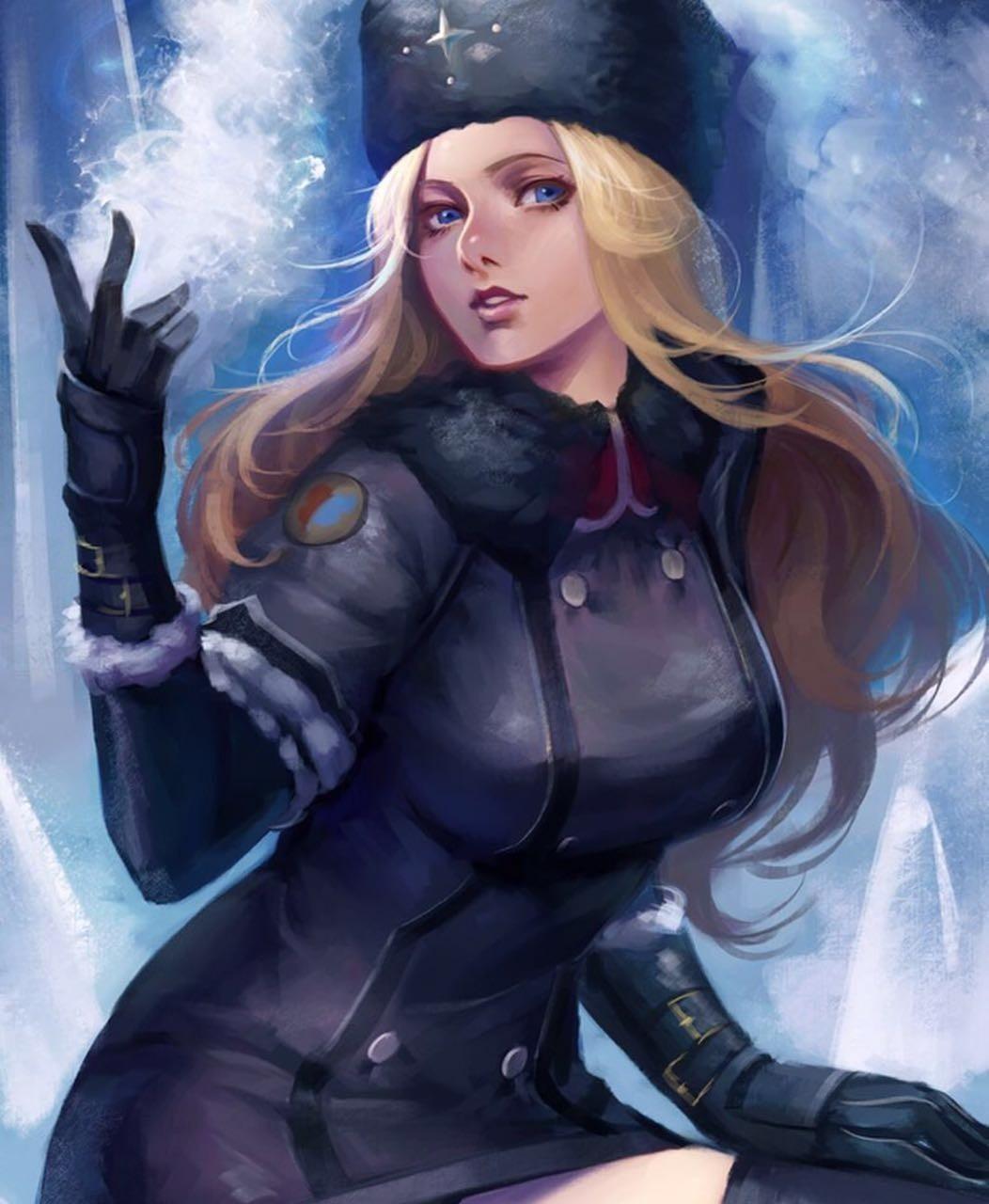 俄罗斯冰雪过膝袜美女展现惊人格斗技 - 《街霸5》最新dlc角色科琳