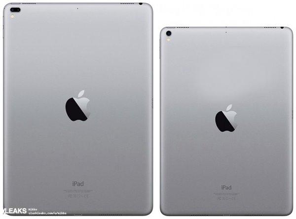 苹果iPad Pro渲染图曝光 预计本月面世:12.9英寸 配备双摄像头