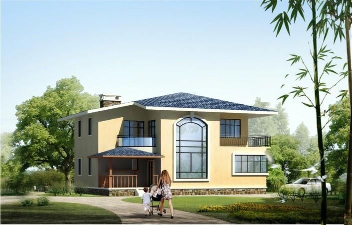 农村二层小别墅设计方案及设计要点