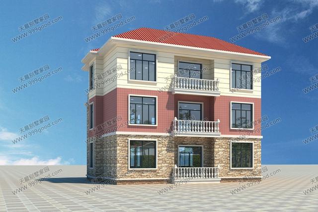 农村经典之作:两套别墅设计图,砖混框架任你选!