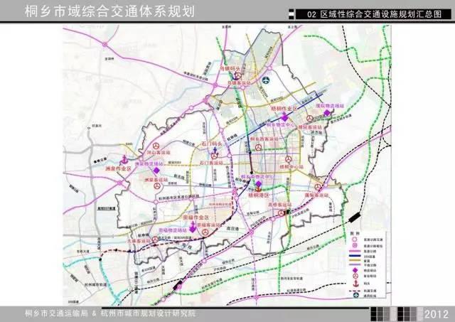 未来桐乡要再造3条铁路,1个机场,还有杭州都市区高速公路环线,钱江图片