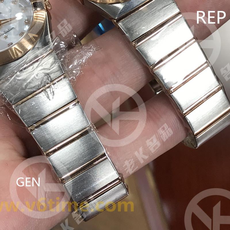 老K谈表第99期:V6厂顶级复刻欧米茄星座真假对比!