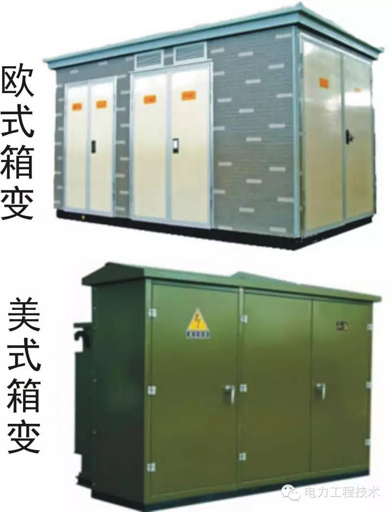 电力工程技术—箱式变电站解析(四)图片