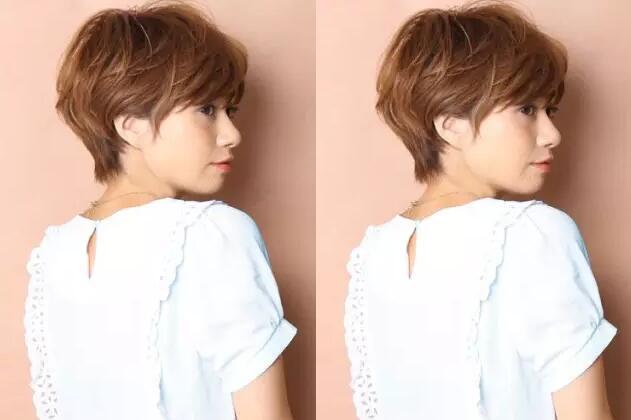 经典女士短发发型分享图片