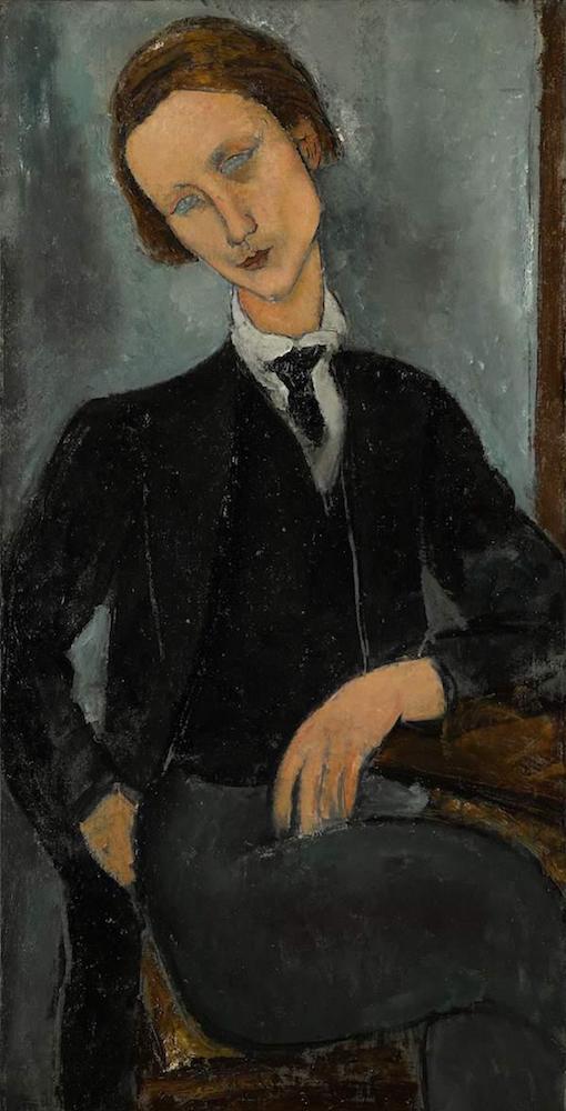 克林姆特亚当和夏娃_44亿元),和意大利表现主义画家莫蒂里安尼的作品《baranowski的肖像》