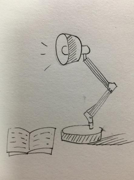 灯泡简笔画-掌握简笔画的套路,小白也能快速上手哦
