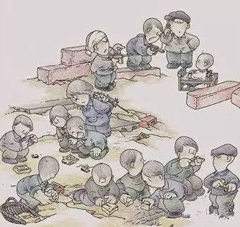 天津某幼儿园大班布置四位数加法练习题