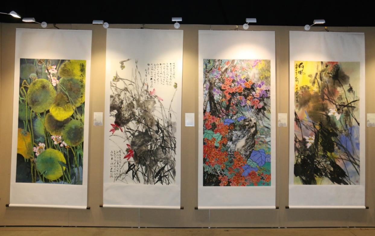 刘存惠现代写意花鸟画教学成果展在京开幕