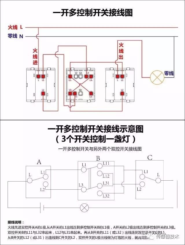 la4-3h反正接线转实图