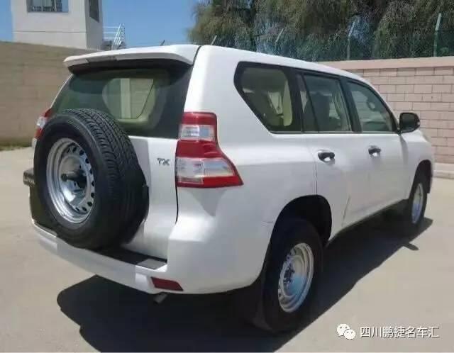 2017款中东版天窗后挂低配版丰田普拉多