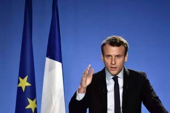 法国总统大选最有可能击败勒庞的人 马克隆以中间路线迎战