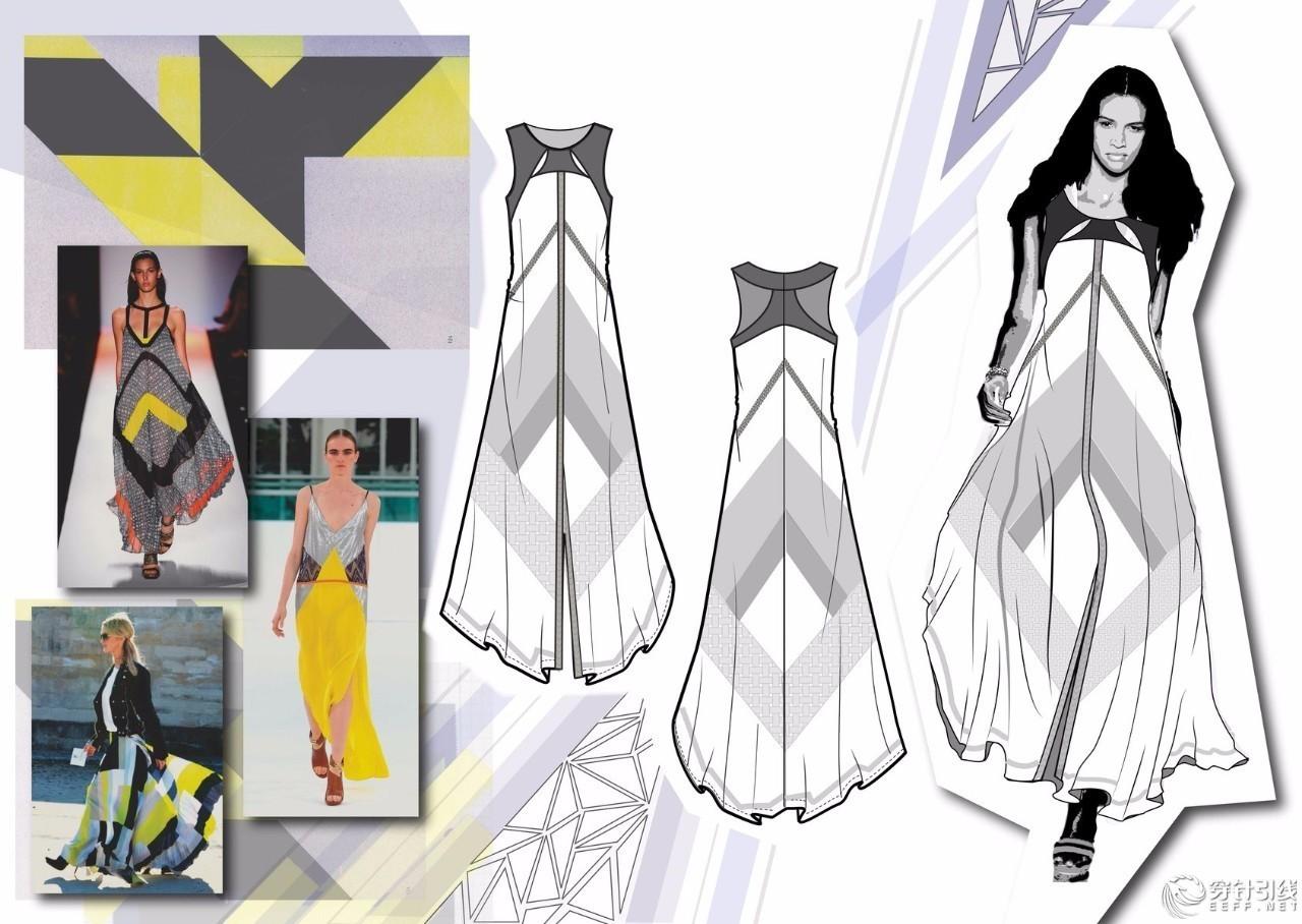 如何画一手漂亮的服装款式图?
