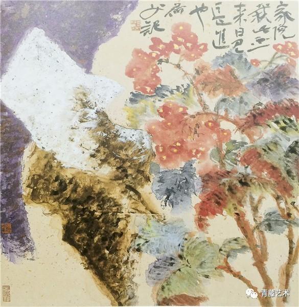毫无疑问,在现代中国画家中他是独特的