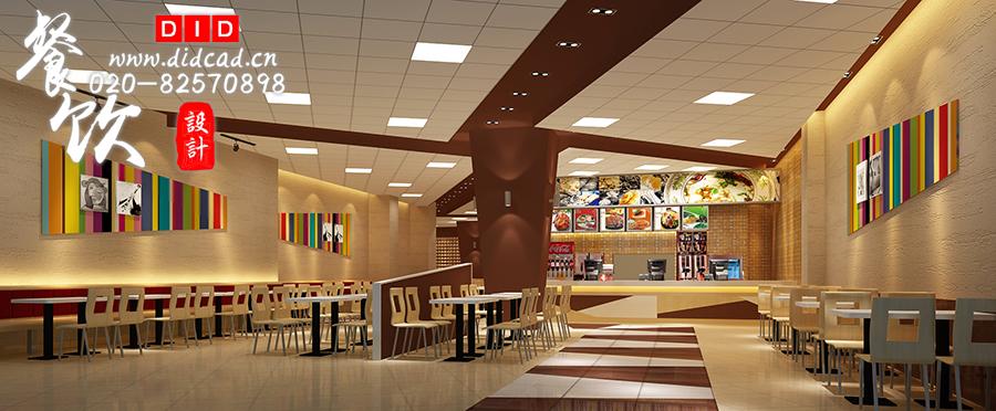 """""""汤上工夫""""设计说明-中式快餐厅装修设计效果图图片"""
