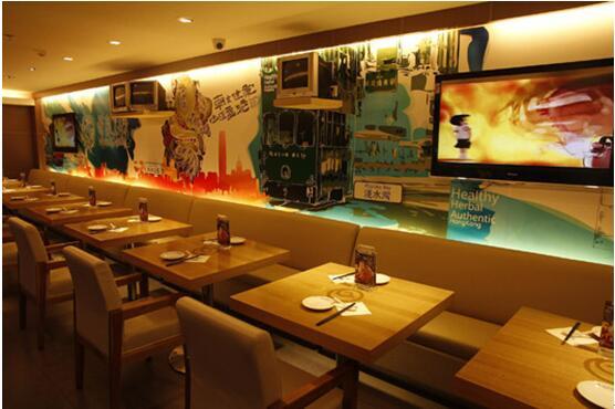 北京港式茶餐厅装修效果图图片