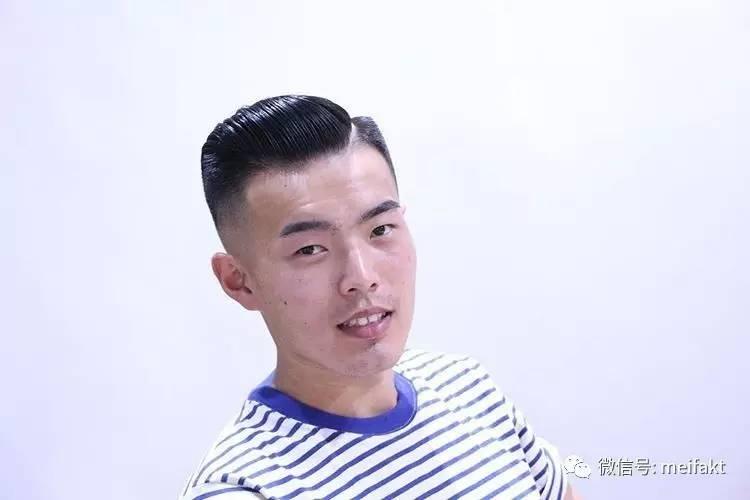 拒绝韩流,抵制韩潮,中国男人就剪中国式油头发型图片