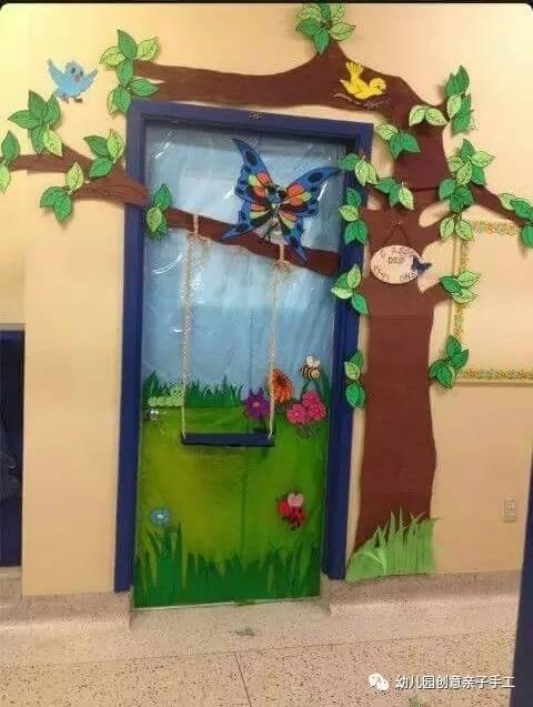 幼儿园植树节环创主题