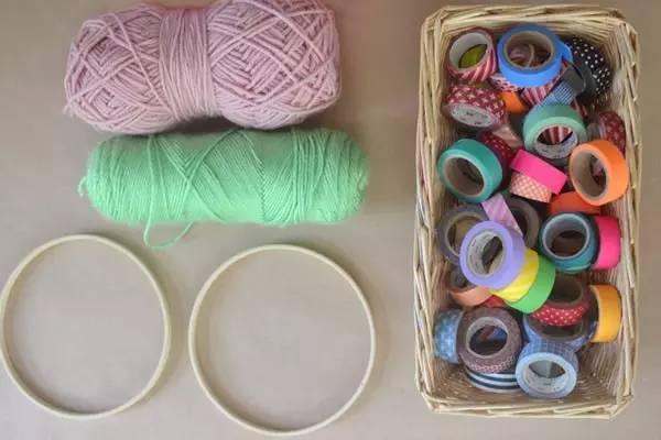 幼儿编织手链,毛线手工教程,一定要学会!