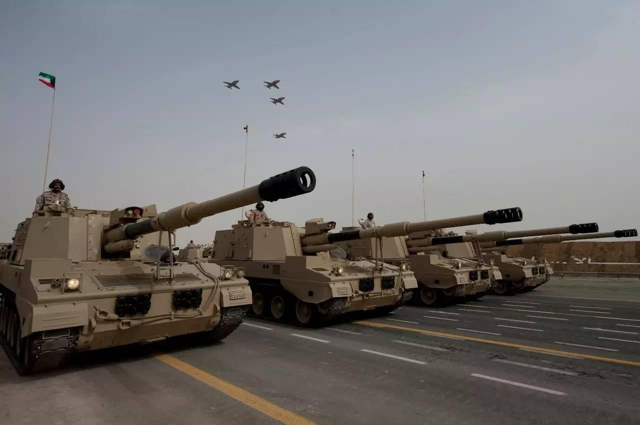 军事 正文  由于海湾战争后,整个科威特陆军的几乎所有装备损失殆尽