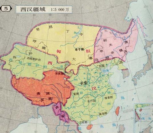 中国古代各朝代地图,哪一个最漂亮