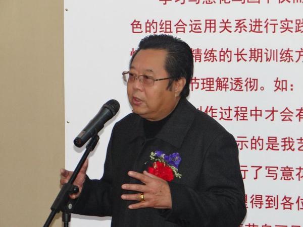 刘存惠 现代写意花鸟画教学成果展 在京开幕