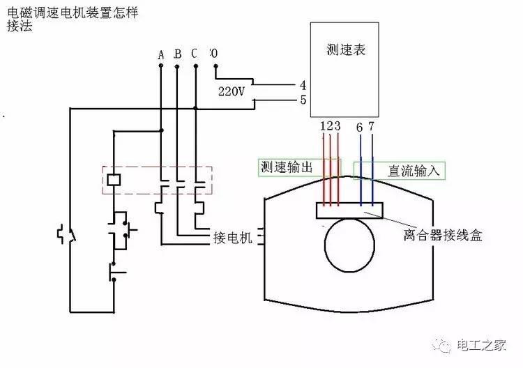 电动机调速器接线图