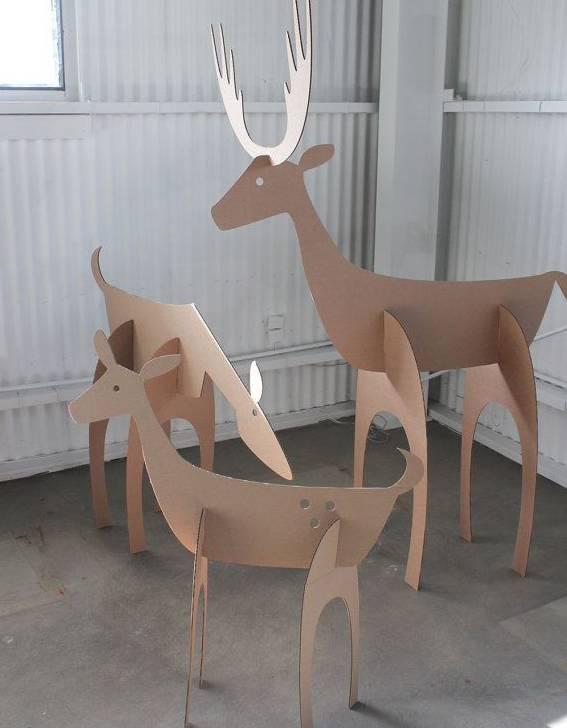 手工制作椅子纸壳