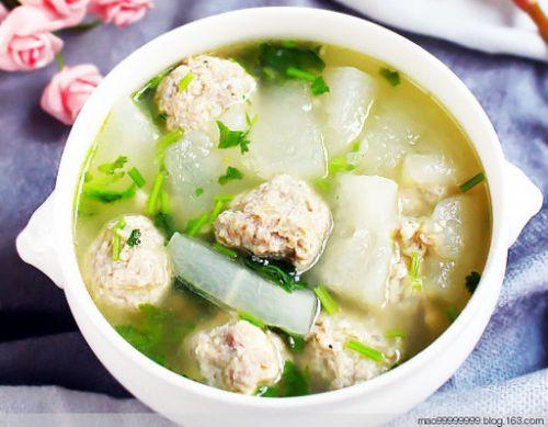 爱心丸子汤