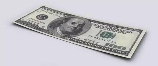 美国究竟有多少债务?看看这么多美元堆在一起的画面